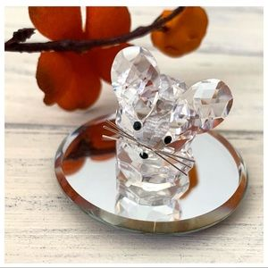 Swarovski Crystal Figurine Mouse